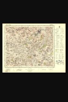 Mapa taktyczna Polski : pas 36, słup 43 : Nieśwież