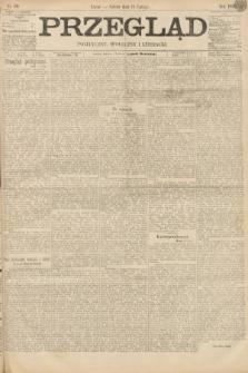 Przegląd polityczny, społeczny i literacki. 1895, nr39