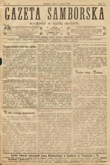 Gazeta Samborska. 1905, nr10