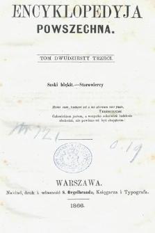 Encyklopedyja Powszechna. T.23