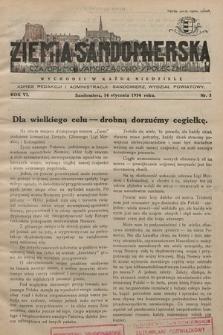 Ziemia Sandomierska : czasopismo samorządowo-społeczne. R. VI, 1934, nr 3