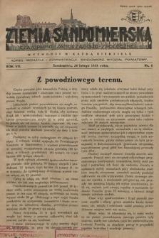 Ziemia Sandomierska : czasopismo samorządowo-społeczne. R. VII, 1935, nr 8