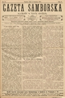 Gazeta Samborska. 1905, nr14