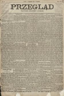 Przegląd polityczny, społeczny i literacki. 1899, nr4