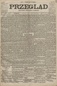 Przegląd polityczny, społeczny i literacki. 1899, nr12
