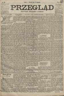 Przegląd polityczny, społeczny i literacki. 1899, nr25
