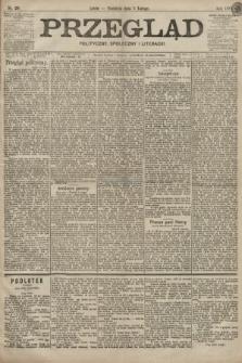 Przegląd polityczny, społeczny i literacki. 1899, nr29