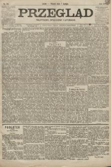 Przegląd polityczny, społeczny i literacki. 1899, nr30