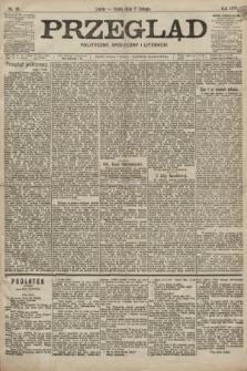 Przegląd polityczny, społeczny i literacki. 1899, nr31