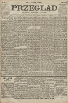 Przegląd polityczny, społeczny i literacki. 1899, nr33
