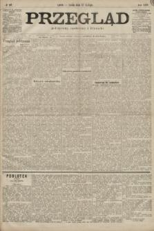 Przegląd polityczny, społeczny i literacki. 1899, nr37