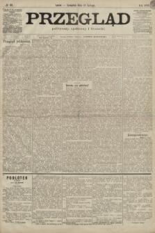 Przegląd polityczny, społeczny i literacki. 1899, nr38