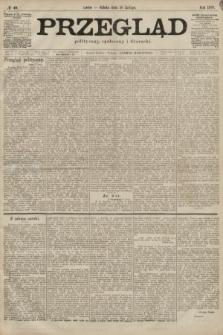 Przegląd polityczny, społeczny i literacki. 1899, nr40