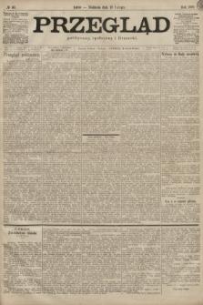 Przegląd polityczny, społeczny i literacki. 1899, nr41