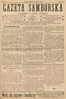 Gazeta Samborska. 1905, nr16