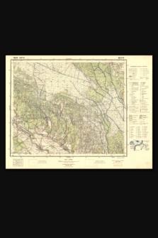 Mapa taktyczna Polski : pas 39 : słup 44 : Wiczyn