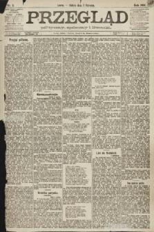 Przegląd polityczny, społeczny i literacki. 1891, nr2