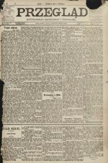 Przegląd polityczny, społeczny i literacki. 1891, nr3