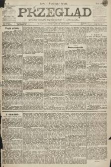 Przegląd polityczny, społeczny i literacki. 1891, nr4