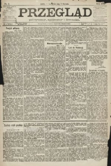 Przegląd polityczny, społeczny i literacki. 1891, nr5