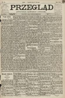 Przegląd polityczny, społeczny i literacki. 1891, nr11