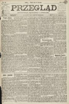 Przegląd polityczny, społeczny i literacki. 1891, nr12