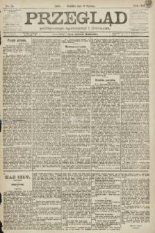 Przegląd polityczny, społeczny i literacki. 1891, nr14