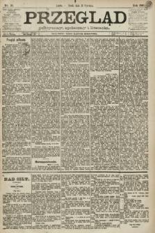 Przegląd polityczny, społeczny i literacki. 1891, nr16