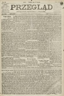 Przegląd polityczny, społeczny i literacki. 1891, nr20