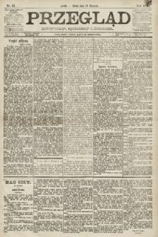 Przegląd polityczny, społeczny i literacki. 1891, nr22