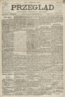 Przegląd polityczny, społeczny i literacki. 1891, nr26