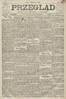 Przegląd polityczny, społeczny i literacki. 1891, nr27