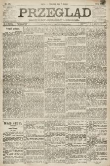 Przegląd polityczny, społeczny i literacki. 1891, nr28
