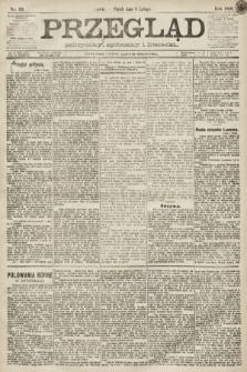 Przegląd polityczny, społeczny i literacki. 1891, nr29