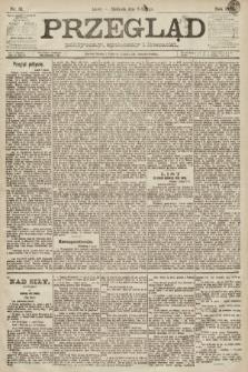 Przegląd polityczny, społeczny i literacki. 1891, nr31