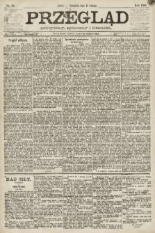 Przegląd polityczny, społeczny i literacki. 1891, nr34
