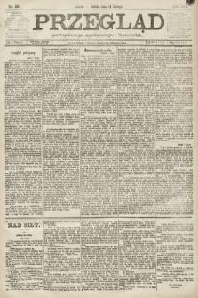 Przegląd polityczny, społeczny i literacki. 1891, nr36