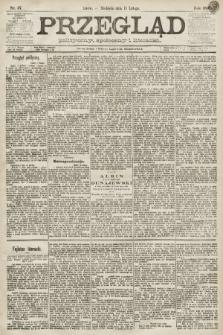 Przegląd polityczny, społeczny i literacki. 1891, nr37
