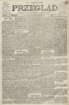 Przegląd polityczny, społeczny i literacki. 1891, nr40