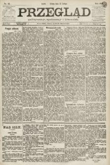 Przegląd polityczny, społeczny i literacki. 1891, nr42