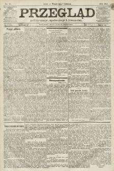 Przegląd polityczny, społeczny i literacki. 1891, nr78