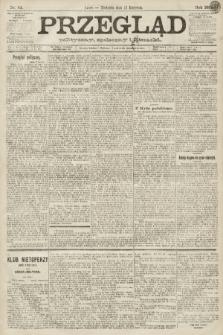 Przegląd polityczny, społeczny i literacki. 1891, nr83
