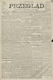 Przegląd polityczny, społeczny i literacki. 1891, nr89