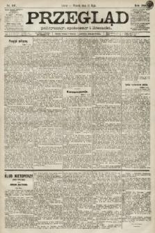 Przegląd polityczny, społeczny i literacki. 1891, nr107