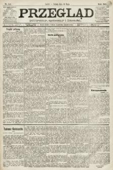 Przegląd polityczny, społeczny i literacki. 1891, nr111