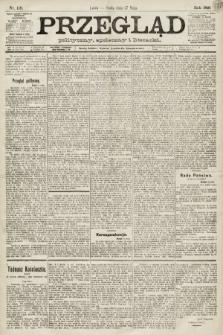 Przegląd polityczny, społeczny i literacki. 1891, nr119