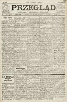 Przegląd polityczny, społeczny i literacki. 1891, nr124