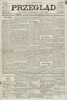 Przegląd polityczny, społeczny i literacki. 1891, nr126