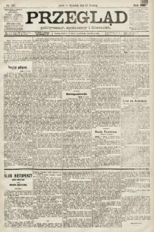 Przegląd polityczny, społeczny i literacki. 1891, nr137