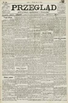 Przegląd polityczny, społeczny i literacki. 1891, nr158